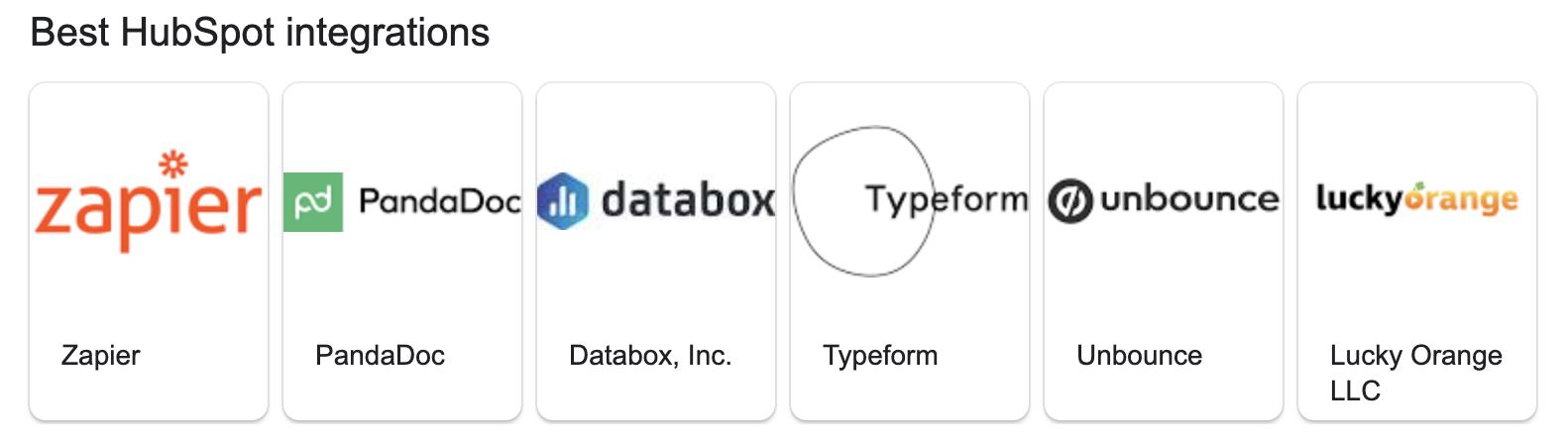 Best HubSpot integrations