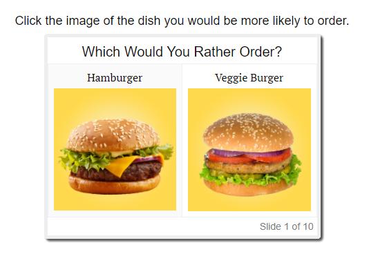 Grubhub interactive quiz